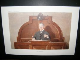 Vanity Fair Print 1910 Guy Owen, Auctioneer, Business